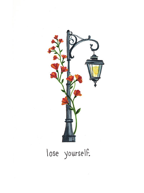 lose yourself | Painted Songs
