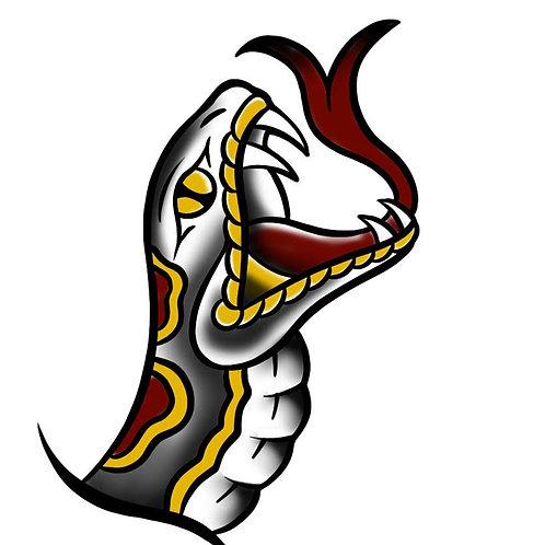 Serpent Head - tattoo deposit