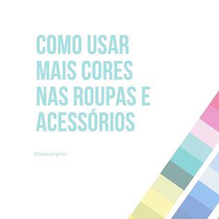 Coloração Pessoal Santos