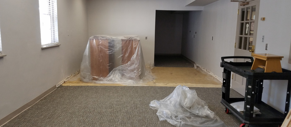 Renovations in our Library!