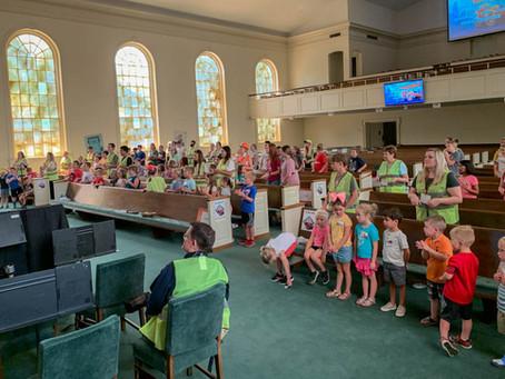 Concrete and Cranes Vacation Bible School 2020