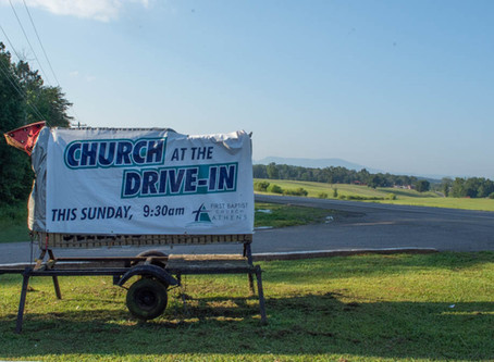 Drive in Church 8-9-20