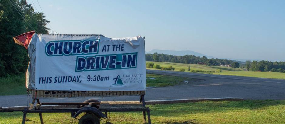 Drive in Church 8-9-20