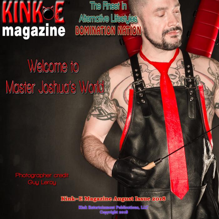 Master Joshua KinkE Magazine Cover