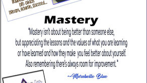 One Word Inspirations - Mastery