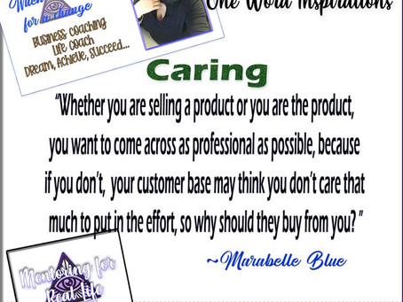One Word Inspirations – Caring