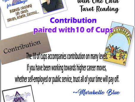 One Word Inspirations – Contribution