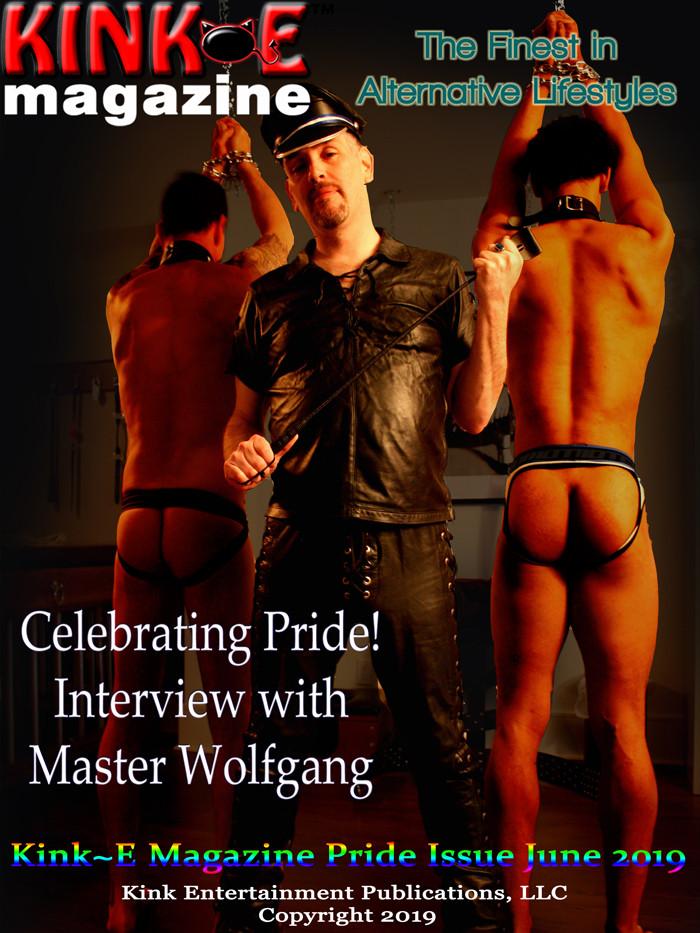Master Wolfgang KinkE Magazine Cover