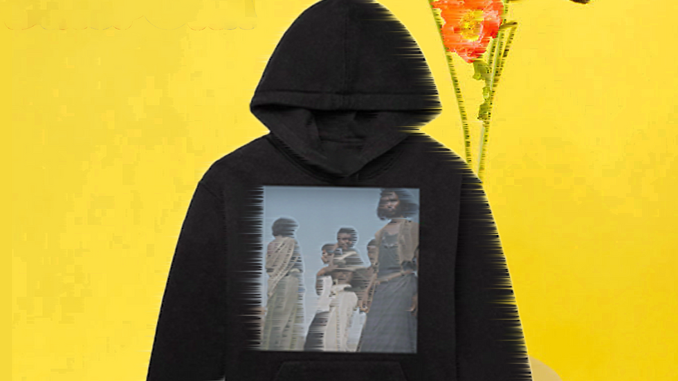 United Long-Sleeve Hooded Sweatshirt