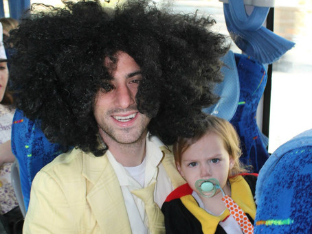 A Look Back: Purim's of the Past