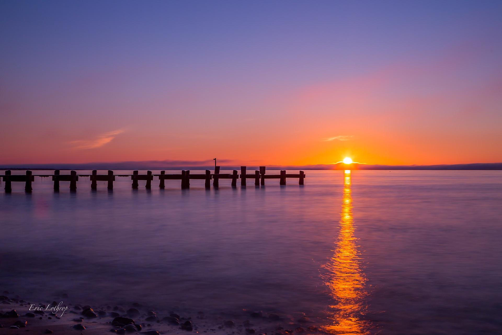 Falmouth Pier Sunrise