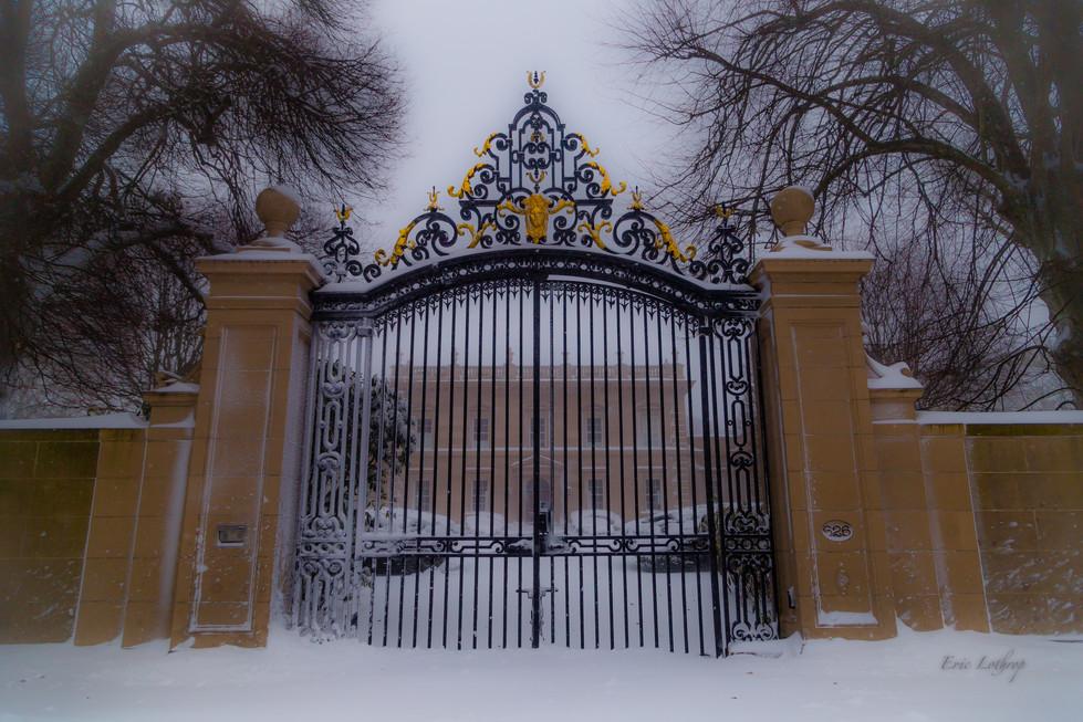 Clarendon Court Gate in Newport