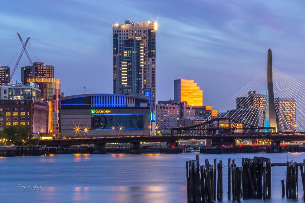 TD Garden Sunset from Pier 6