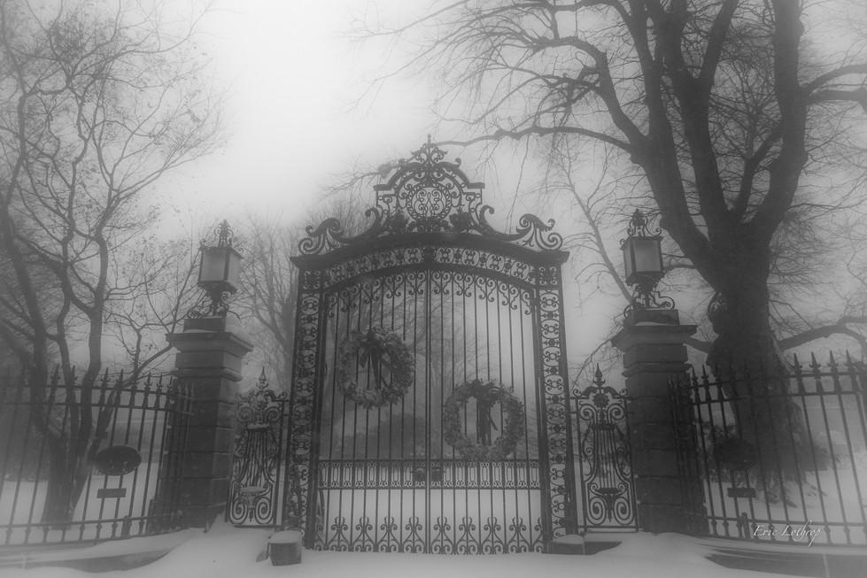 Newport Mansion Gate