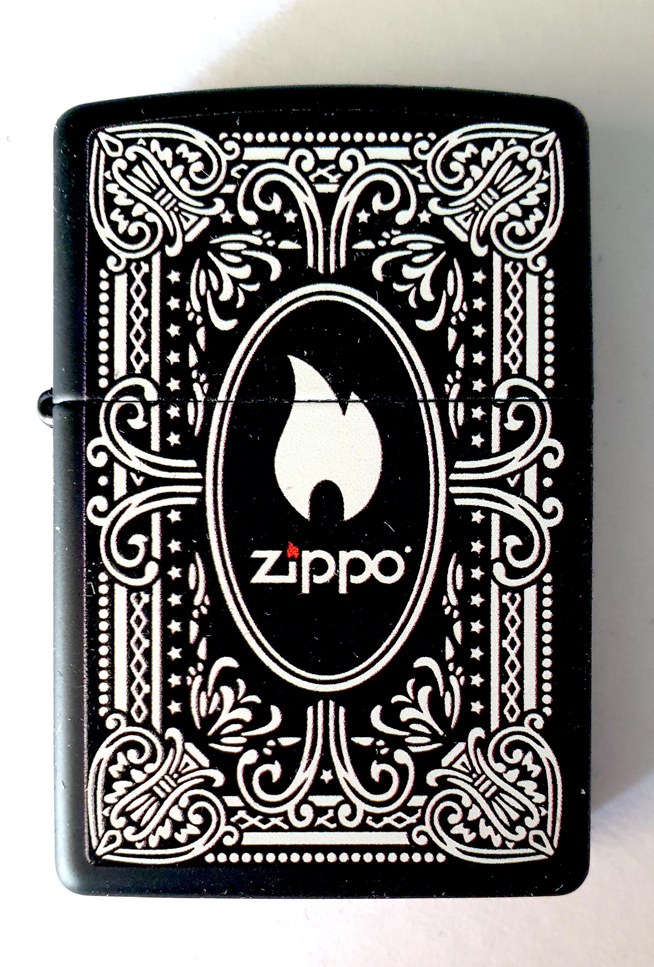 Vintage Zippo D (2)