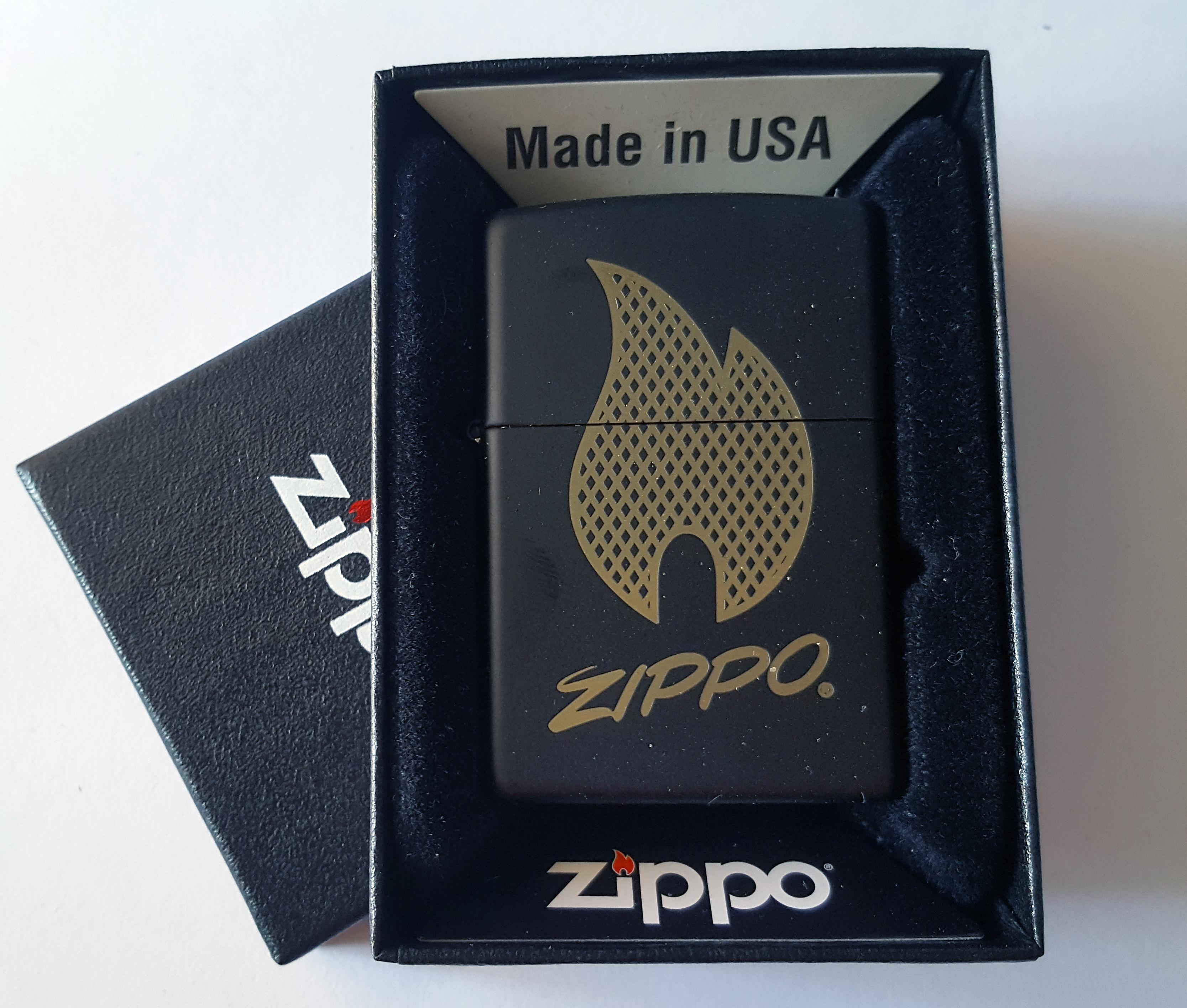 Zippo flame black 60004152
