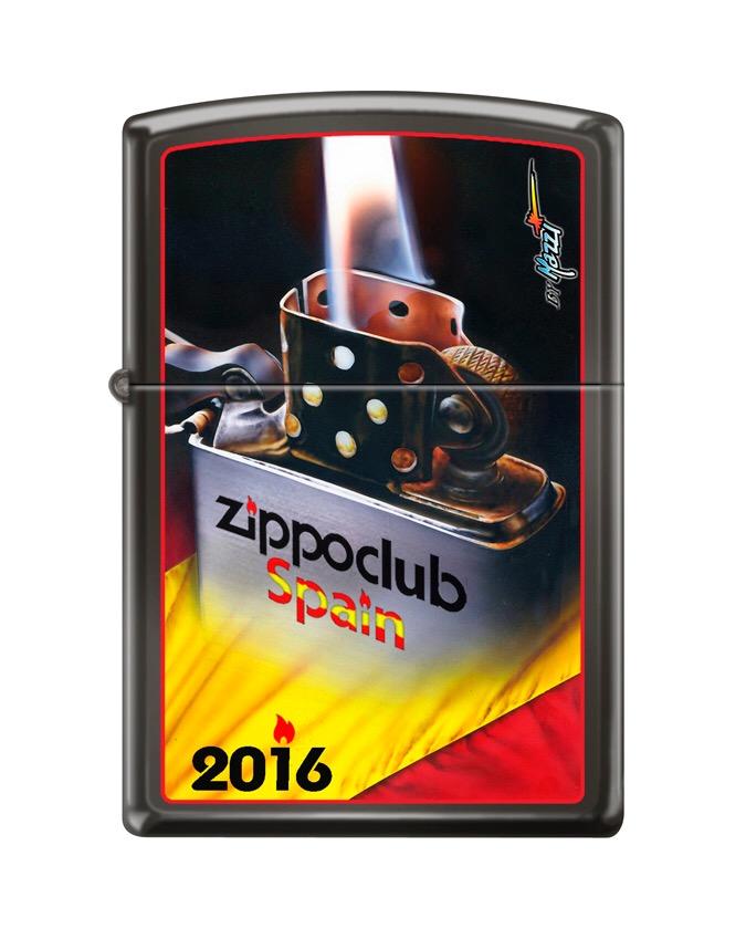 Zippo Club Spain printed 2016
