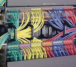 Serveur informatique Brassage de baie informatique Infrastructure réseaux
