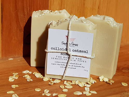 Colloidal Oatmeal Sensitive Soap by Sophie's Soaps