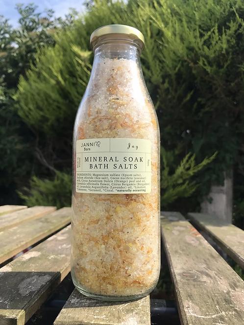 Mineral Soak Bath Salts