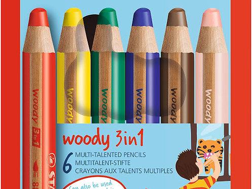 Stabilo 3in1 pencils