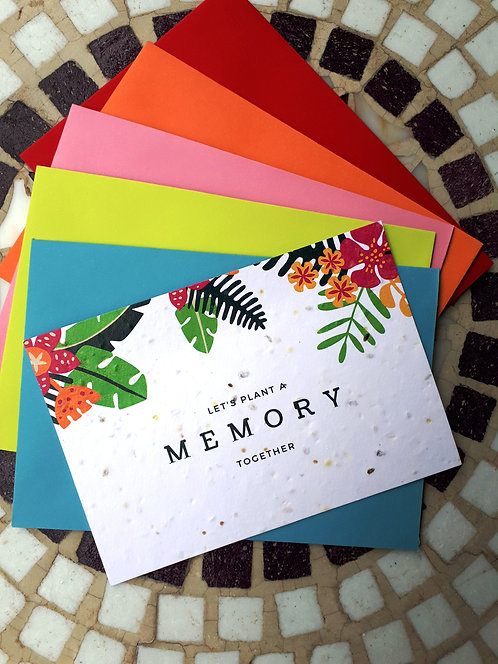 Plant a Memory Card