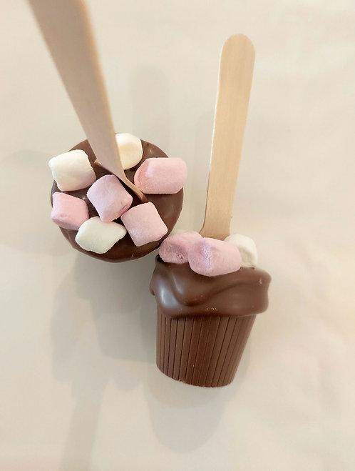 An Olivia Chocolate Hot Chocolate
