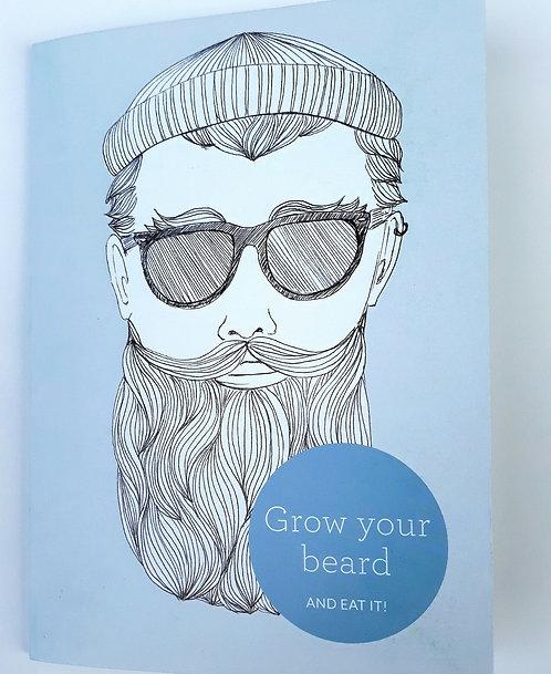 Grow your Beard and Eat it Card