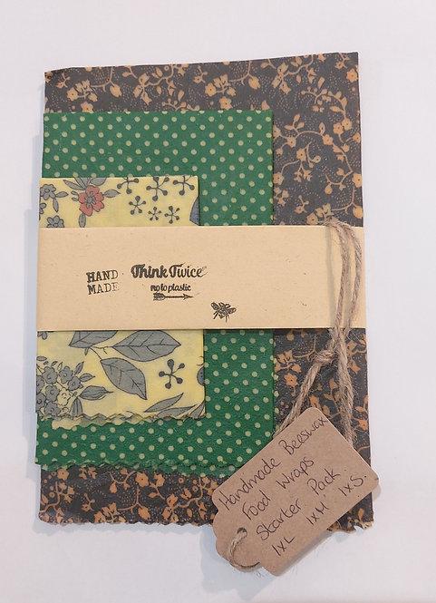 Beeswax Wraps Handmade by Think Twice