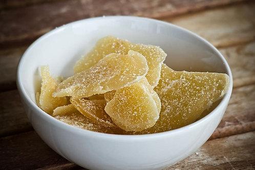 Dried Crystallised Ginger 100g