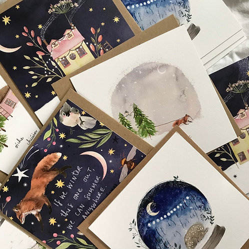Make it Magic 5 Pack Christmas Cards