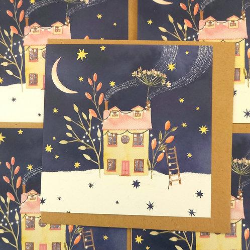 Magic House Christmas Card
