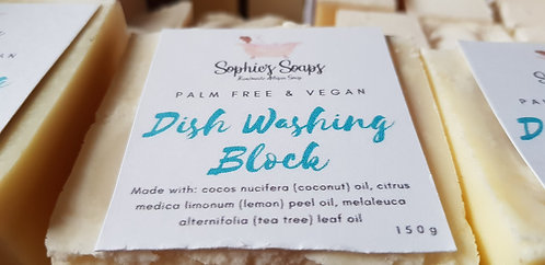 Dish Washing Block by Sophie's Soaps