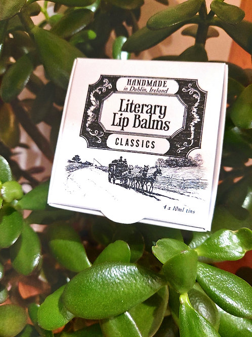 Lip Balm Gift Set by Literary Lip Balms