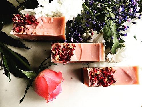 Rose Soap Bar by Janni Bars
