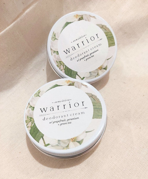 Deodorant Cream by Warrior Botanicals