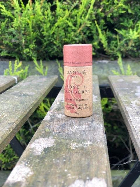 Rose and Raspberry Moisturiser by Janni Bars