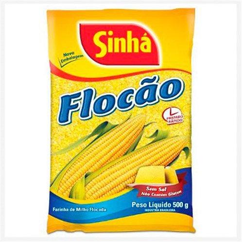 Farinha de Milho Flocão cuscuz Sinha 500g