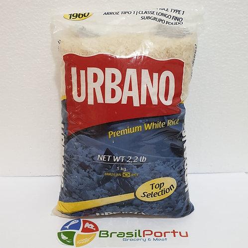 Arroz Branco Tio João  ou Urbano 1kg
