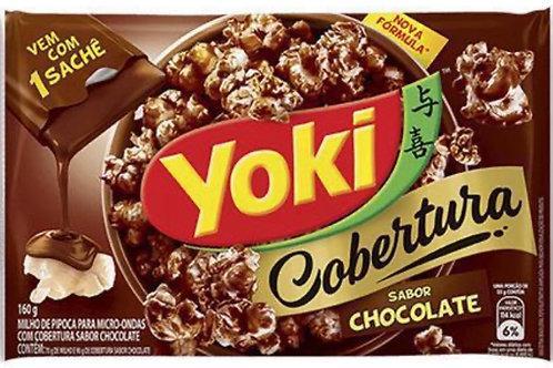 Pipoca Microondas chocolate Yoki 100g