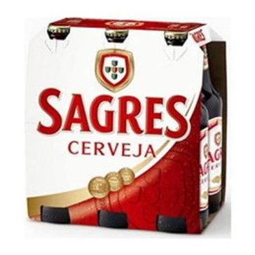 Cerveja Sagres Pack 6 und