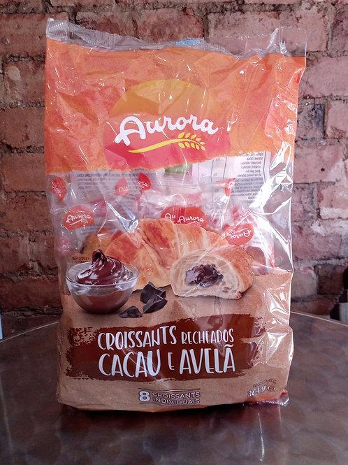 Croissants Recheados Cacau e Avela 8un