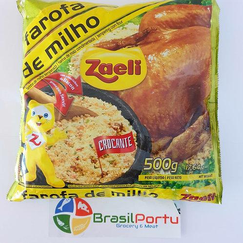 Farofa Milho  Zaeli 500g