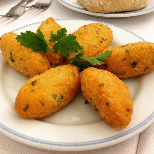 Pasteis de Bacalhau Congelado - 10 und