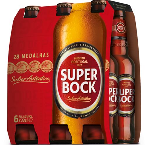 Cerveja Super Bock Pack 6 und