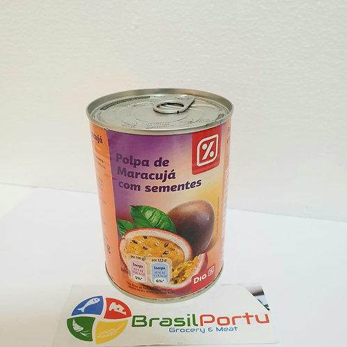 Polpa de Maracujá com Sementes