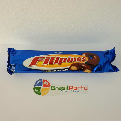 Biscoito Filipinos Chocolate Leite 135g