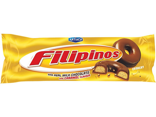 Biscoito Filipinos Chocolate e Caramelo 135g