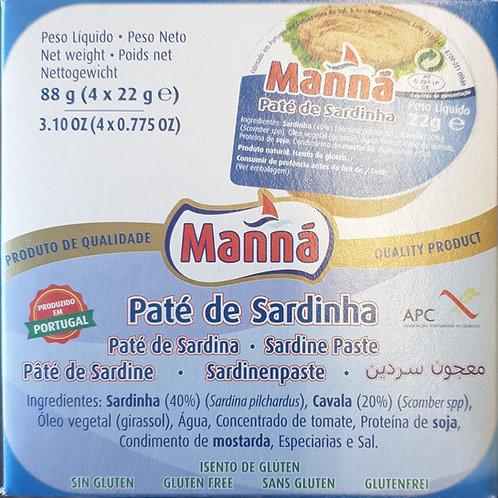 Paté Sardinha 88g
