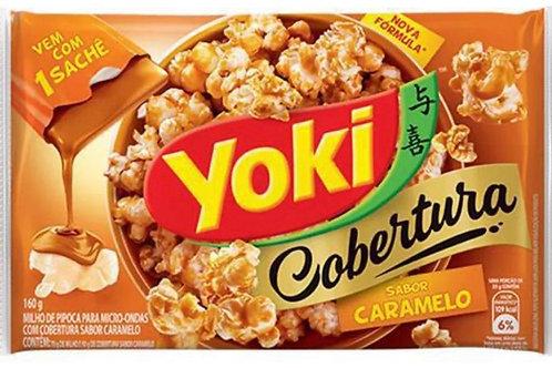 Pipoca microondas caramelo Yoki 100g